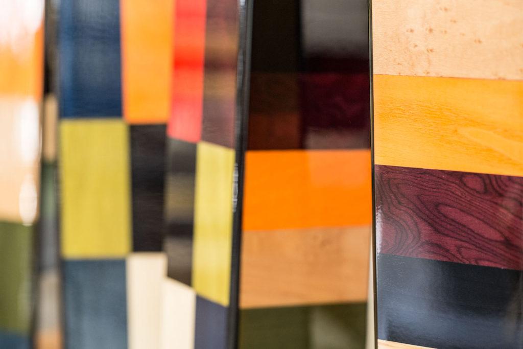 dettagli tarsie multicolore